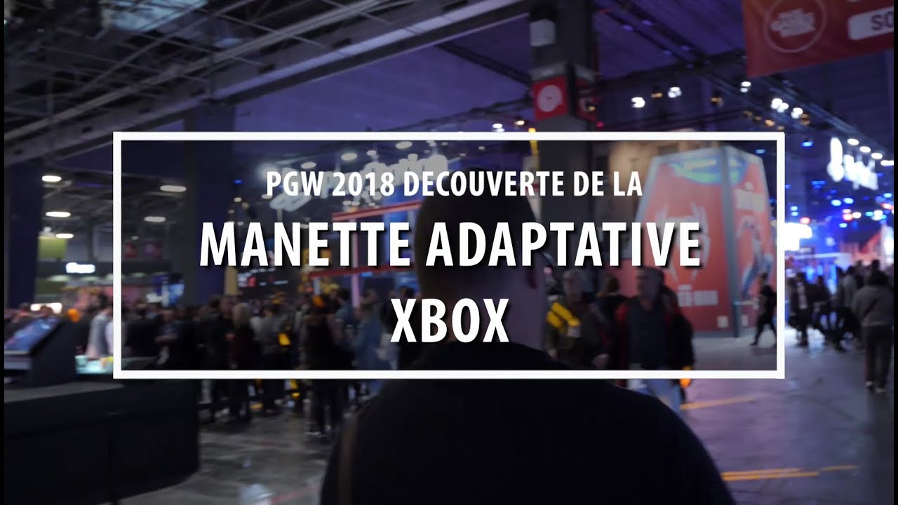 Manette adaptative - accessibilité - PGW
